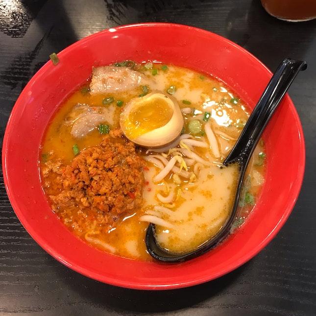 Spicy Cha Shu Ramen
