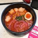 Vinaigrette Ebiko Prawn Paste Noodle (Tomato Soup Base)