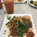 Stir-fried Drunken Tang Hoon • Thai Milk Tea