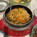 Braised Ee-fu Noodle w/ Shredded Duck Meat