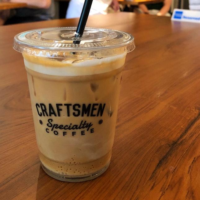 Iced Macadamia Latte