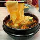 Mala claypot noodles ($5.50)