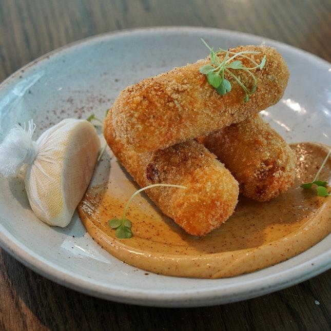Roast Chicken Croquette
