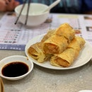 Fried Prawn Beancurd Skin Rolls