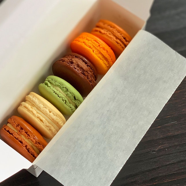 Box Of 6 Macarons ($20)