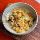 Chicken Mushroom Mac & Cheese ($17.50)