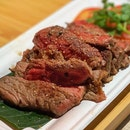 Isaan Beef Steak With Spicy Dipping Sauce ($23)