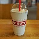Five Guys Shake ($10)