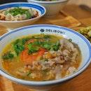 Golden Soup Beef Noodle ($9.90)