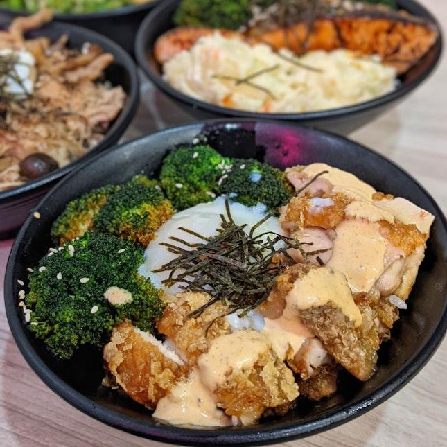 Hakka Chicken Rice Bowl ($7.80)