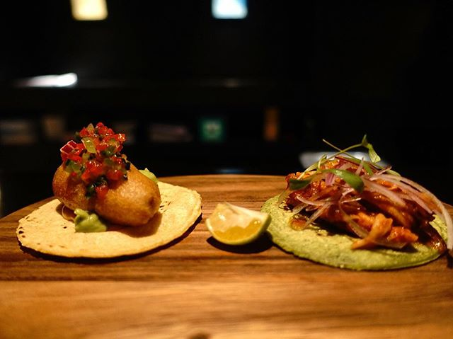 How did I miss ordering these amazing fish tacos before?