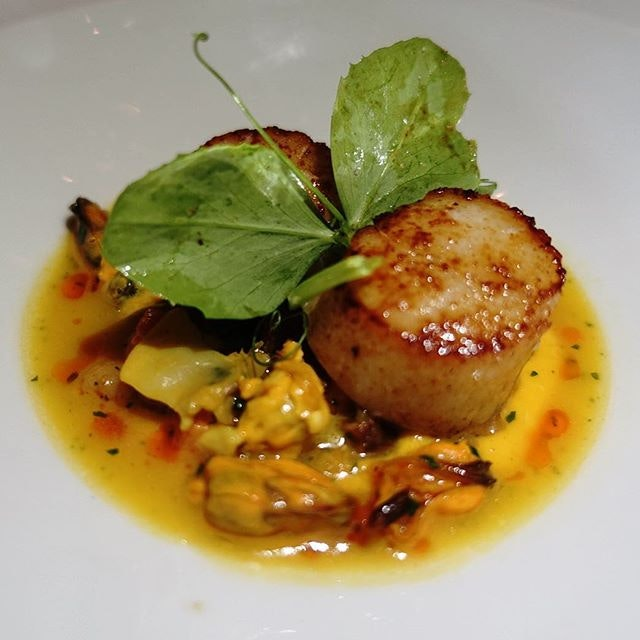 Who says only Japanese chefs can do Hokkaido scallops justice?