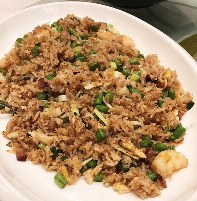 Brother Wah's fried rice.