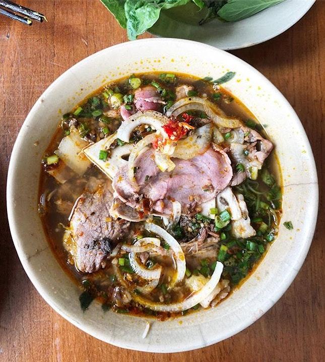 Bun Bo Hue, a speciality from Hue.