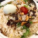 We also ordered the mutton kofta biryani.