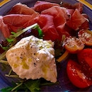 Burrata with Parma Ham & Sicilian Tomatoes