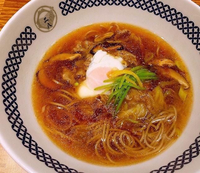すき燒き蕎麥 Hot Sukiyaki Soba  $18