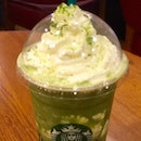 Matcha Earl Grey Jelly Frappuccino®  $7.90