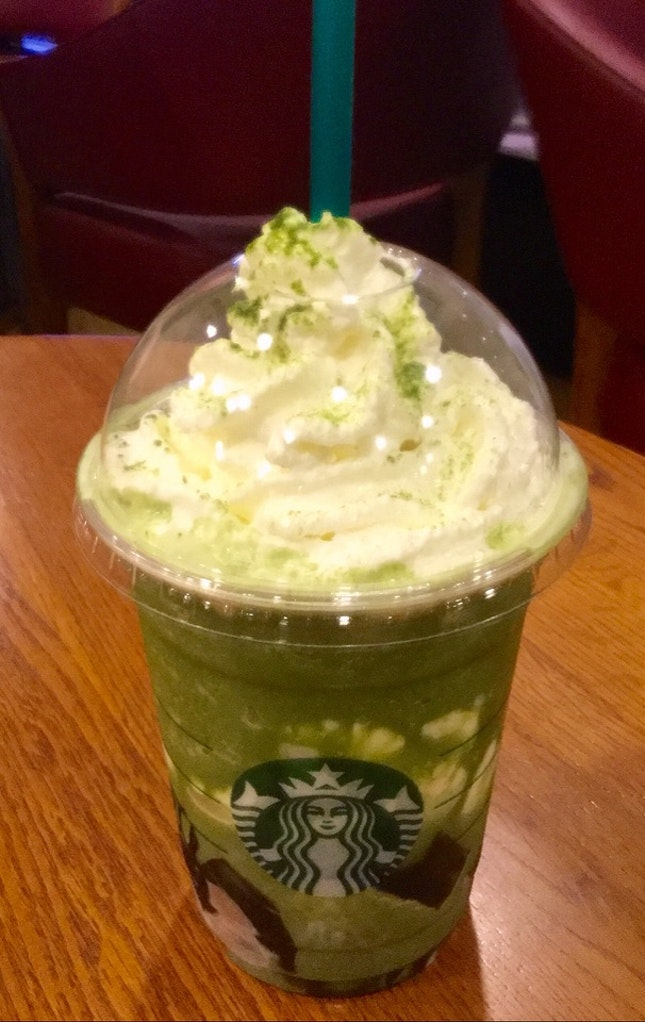 Matcha Earl Grey Jelly Frappuccino®  $7.90