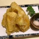 コーン天ぷら $6