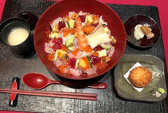 ちらし寿司セット  $33