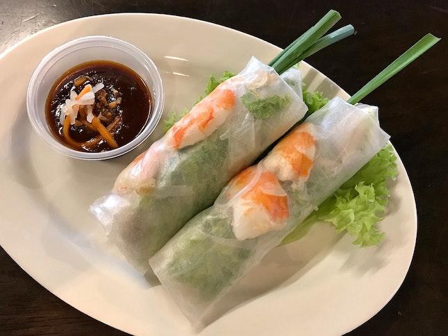 Vietnamese Summer Rolls  $6