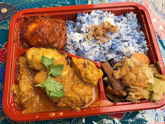 Chicken Curry Kapitan Set  $11.90
