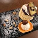 Yaki-Imo Pancake Riz Labo Halloween Style  $20