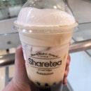 黑糖珍珠海鹽奶蓋  $5.50