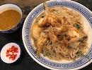 大食家炒大蝦白米粉  $16.80