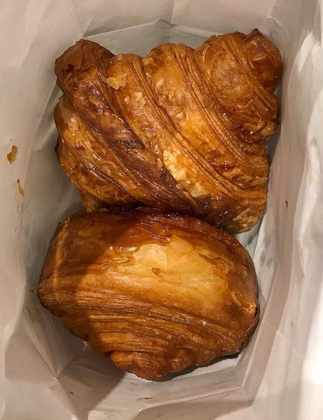Original Mochi Croissant $3 | Brown Sugar Kouign Amann $4
