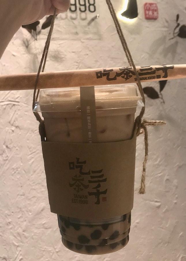 國王珍珠奶茶  $4.20