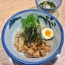 柚子露つけ麺  $15.90