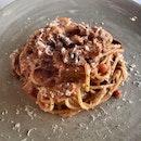 "Spaghetti ""Trippa ala Romana""  $29"