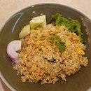 Tom Yum Seafood Fried Rice  $10