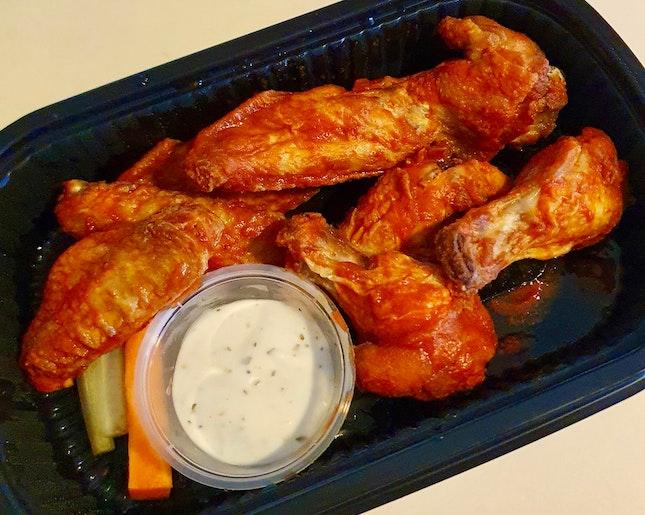 8pc Bone-in Wings  $8.50
