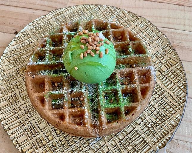 Dairy-Free Waffles  $11.80