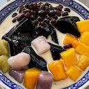 芋圓仙草+芒果紅豆  $5