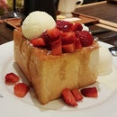 Outstanding Strawberry Cream Toast