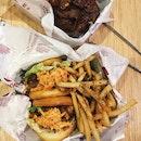 Katsu Chicken Sandwich Combo W/ Seaweed Fries