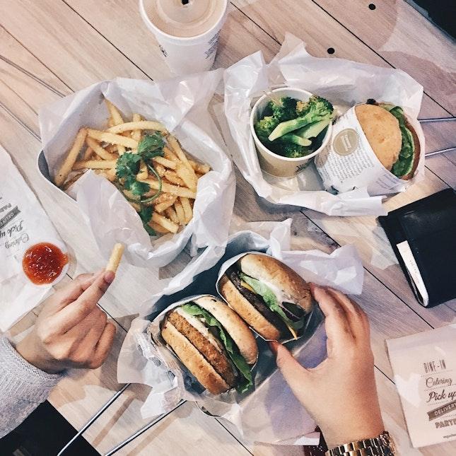 Wholegrain Burgers & Truffle Fries