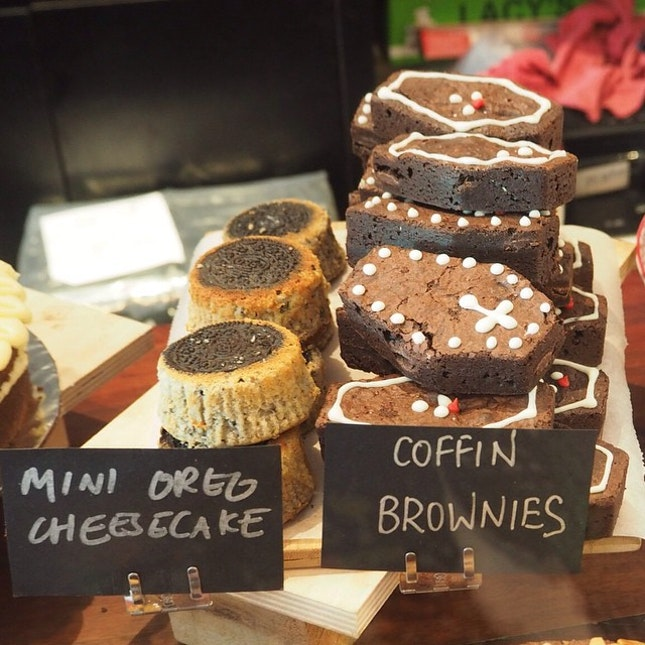 I'll have some of that coffin brownie.