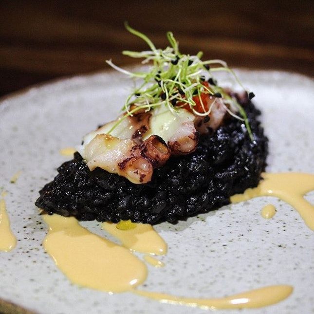 Charred House-Poached Octopus