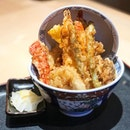 Tendon kohaku ($17.90)  Bowl of delicious fried goodness.