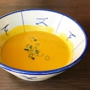 Pumpkin soup (starter, $12 lunch set - comes with main and drink)  Tasty and appetising way to start the meal.