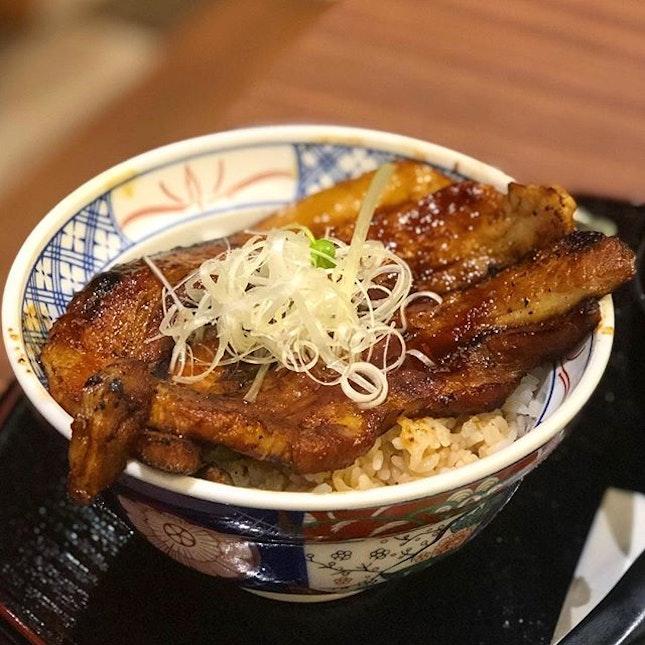 Buta bara Don ($15)  What a bowl of Smokey goodness!