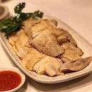 Glistening chicken with silky smooth skin.
