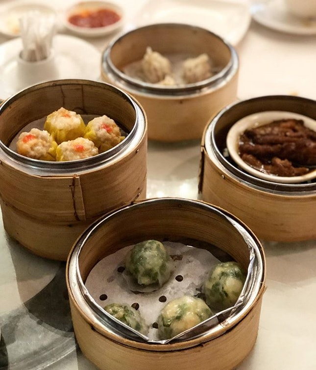 Dim sum buffet ($27.80 per pax on weekends, buy 3 get 1 free)  Came here to celebrate Mother's Day.