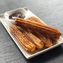 Churros ($7) Churros Were Crisp On The Outside with a nice sprinkling of cinnamon sugar.