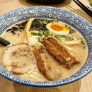 Ramen here was good with generous servings of char siew.